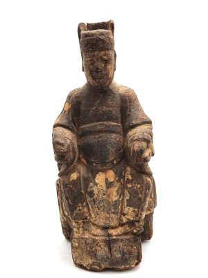Old Chinese Ancestor Statue