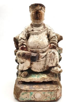Old Large Chinese Statue Mandarin
