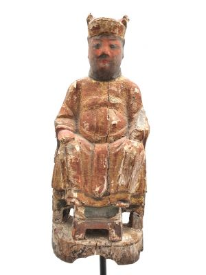 Old Chinese Statue