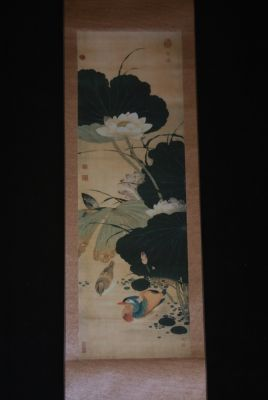 Chinese Painting Flowers and Birds Summer
