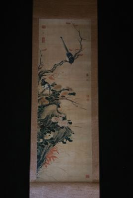 Chinese Painting Flowers and Birds Autumn