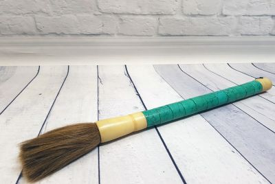 Large chinese Calligraphy Brush Blue green