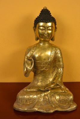 Statue en Bronze Bouddha