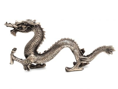 Bronze Statue Dragon