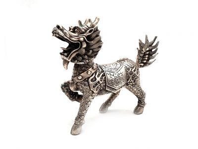 Metal Statue Chinese guardian lions