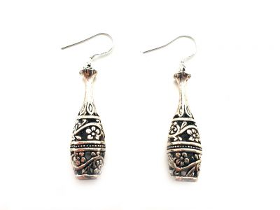 Miao Ethnic Earrings Bottle