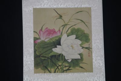 Chinese Paintings to Frame Dragonfly