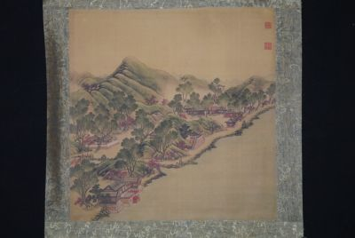 Chinese Paintings to Frame Chinese Landscape