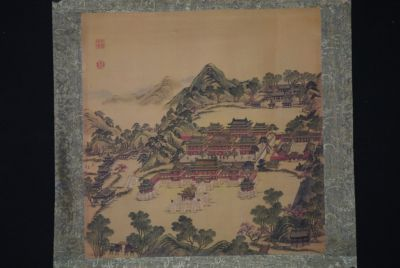 Chinese Paintings to Frame Chinese Palace
