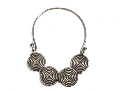 Large Tribal Decoration Jewelry 4 circles of life