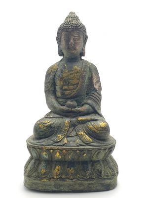Brass Statue Little Buddha