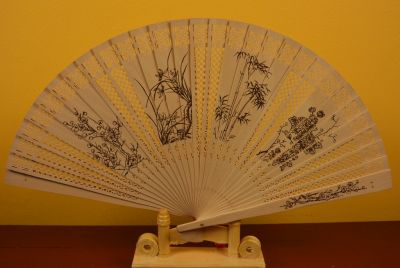 Chinese Hand fan Asian vegetation