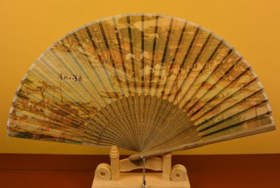 Chinese Hand fan River