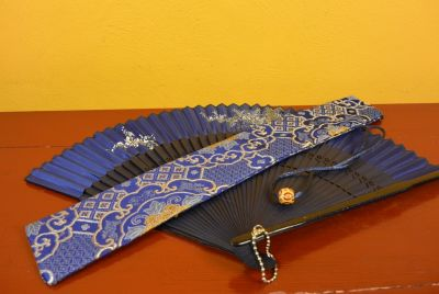 Hand fan silk Pouch 2