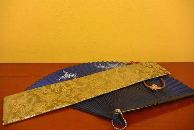 Hand fan silk Pouch 3