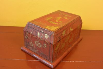 Chinese Lacquer Red Box