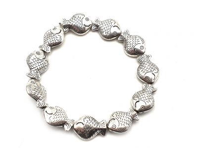 Little Ethnic Bracelet Fish Elastic