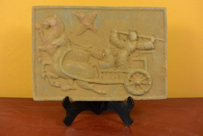 Chinese Terracotta plate Chariot