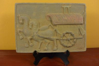 Chinese Terracotta plate Transportation of goods