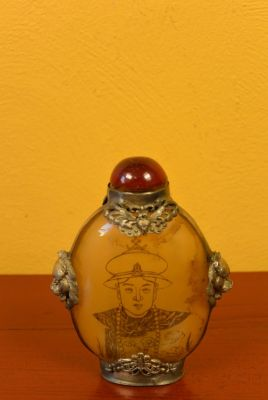 Chinese Glass Snuff Bottle Chinese emperor