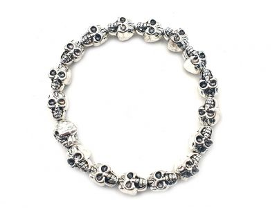 Little Chinese Ethnic Bracelet Skulls