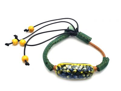 Ceramic jewelry Heaven Collection Bracelet Green