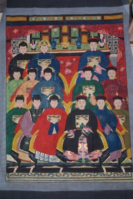 Very Large Chinese ancestors 14 People