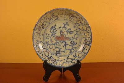 Chinese porcelain plate Lotus