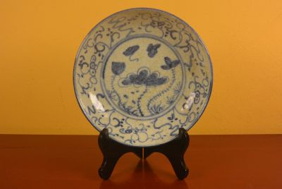 Chinese porcelain plate Lotus 2