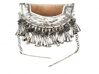 Large Tribal Decoration Jewelry Comb hair