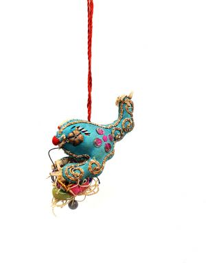 Shanxi old embroidery Toad