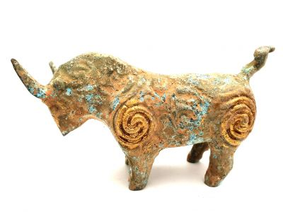 Bronze Statue Small buffalo
