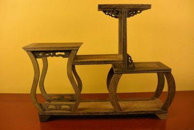 Chinese Shelf - Asian decoration - 37x30cm