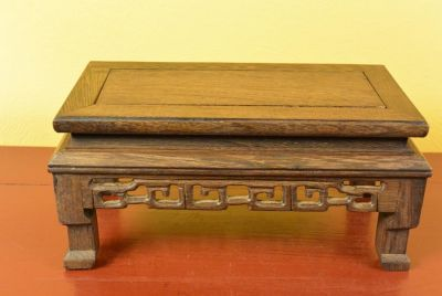 Chinese Wood stand - Chinese table - Size S