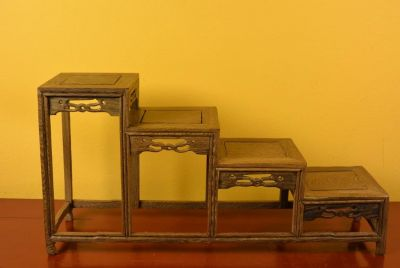 Chinese Miniature Furniture - 4 Slots