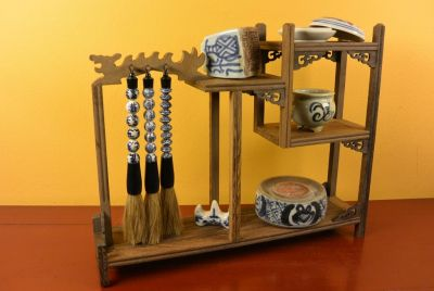 Calligraphy Set - Asian decor - Complete