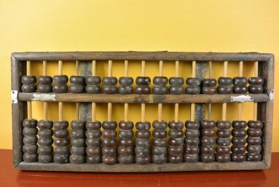 Old Abacus - Chinese school