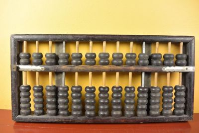 Old Chinese Abacus - Trader