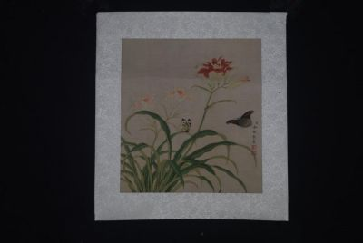 Chinese Paintings to Frame Butterflies