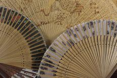 Abanico China y Abanico japonés