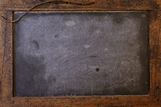 Antique Chinese School Slate