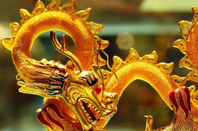 Le Dragon en Chine
