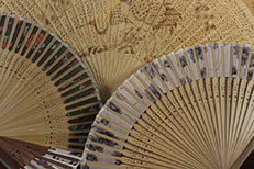 Chinese Hand fan and Japanese Hand fan