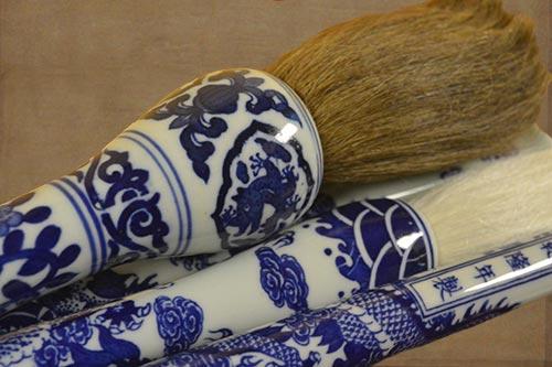 Chinese Porcelain Brushes