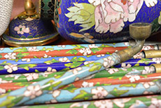 Chinese Cloisonné Pipes