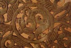 Chinese Jade Engraved Bi Discs