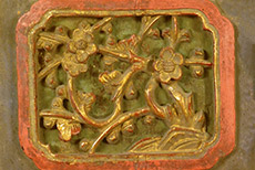 Muy grandes Placas de Madera Dinastia Qing