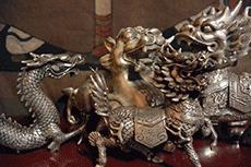 Estatuas chinas del metal