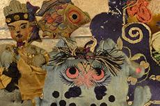 Antiguos bordados Shanxi - juguetes para los niños