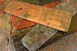 Taiwanese Prayer Panels in Jade